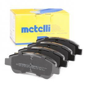 425341 for PEUGEOT, CITROЁN, OPEL, DS, PIAGGIO, Brake Pad Set, disc brake METELLI (22-0327-0) Online Shop