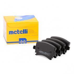3C0698451A für VW, AUDI, SKODA, SEAT, Bremsbelagsatz, Scheibenbremse METELLI (22-0553-0) Online-Shop
