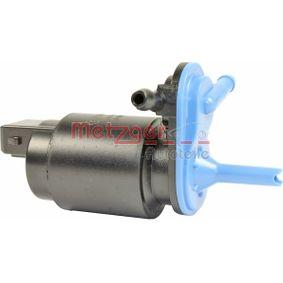 Bomba de limpiaparabrisas METZGER (2220051) para NISSAN MICRA precios