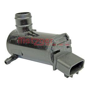METZGER Motor agua limpiaparabrisas 2220057