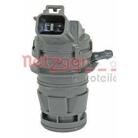 METZGER Motor agua limpiaparabrisas 2220079