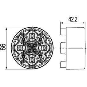 PANDA (169) HELLA Turn signal 2BA 009 001-411