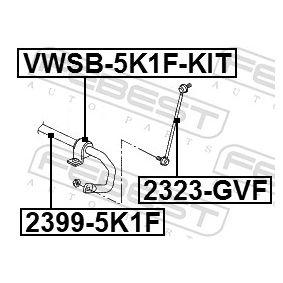 FEBEST Koppelstange 1K0411315R für VW, AUDI, SKODA, SEAT, PORSCHE bestellen