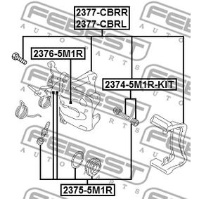 FEBEST Reparatursatz, Bremssattel 8E0698470 für VW, AUDI, SKODA, SEAT bestellen