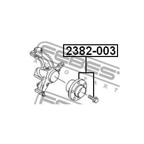 Naboj kola 2382-003 FEBEST