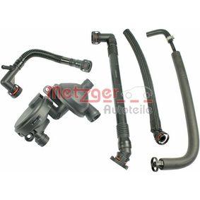 METZGER Reparatursatz, Kurbelgehäuseentlüftung 11617501566 für BMW bestellen