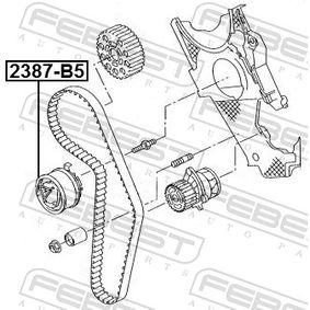 FEBEST Spannrolle, Zahnriemen 045109243F für VW, AUDI, SKODA, SEAT, CUPRA bestellen