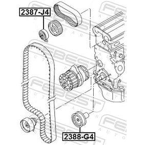 Napínací kladka, ozubený řemen 2387-J4 FEBEST
