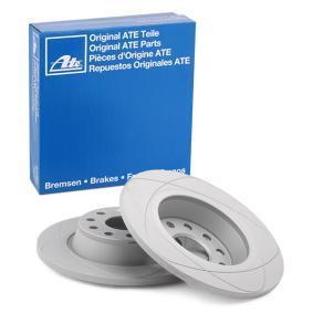 5Q0615601G за VW, AUDI, SKODA, SEAT, Спирачен диск ATE (24.0312-0169.1) Онлайн магазин