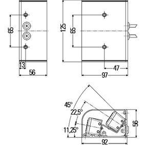 2XD 009 475-021 Lumina de avertizare avarie pentru vehicule