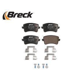 8K0698451E für VW, AUDI, SKODA, SEAT, Bremsbelagsatz, Scheibenbremse BRECK (24606 00 554 00) Online-Shop