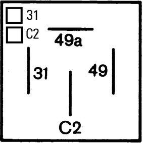AUDI 80 (81, 85, B2) HELLA Blinkerrelais 4DM 003 360-027 bestellen