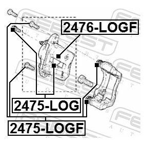 Kolben, Bremssattel 2476-LOGF FEBEST