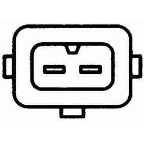 Sensor, Ansauglufttemperatur 6PT 009 109-141 HELLA