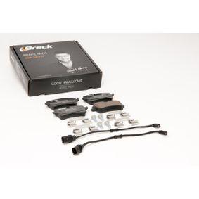 BRECK Kit de plaquettes de frein, frein à disque 4H0698451A pour VOLKSWAGEN, AUDI, SEAT, SKODA, PORSCHE acheter