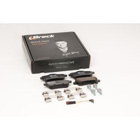 BRECK Bremsbelagsatz, Scheibenbremse 0064203420 für MERCEDES-BENZ bestellen
