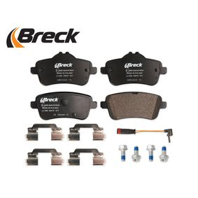 0064203420 für MERCEDES-BENZ, Bremsbelagsatz, Scheibenbremse BRECK (25215 00 554 00) Online-Shop
