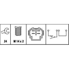 Rückfahrlichtschalter 6ZF 008 621-101 HELLA
