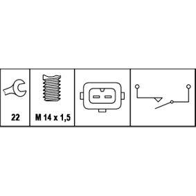 CITROËN XANTIA 1.9 D 69 CV año de fabricación 06.1994 - Interruptor/regulador (6ZF 008 621-161) HELLA Tienda online