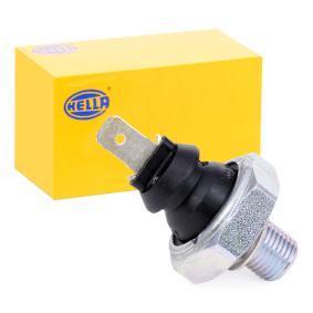 HELLA Öldruckschalter, Öldrucksensor und Öldruckventil 6ZL 003 259-471 für AUDI 80 1.8 GTE quattro (85Q) 110 PS kaufen