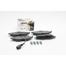 BRECK Kit de plaquettes de frein, frein à disque 5Q0698151B pour VOLKSWAGEN, AUDI, SEAT, SKODA acheter