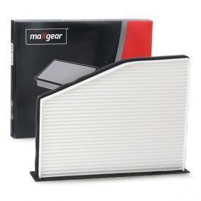 Filter, Innenraumluft MAXGEAR Art.No - 26-0117 OEM: 1K0819644A für VW, AUDI, SKODA, SEAT, PORSCHE kaufen