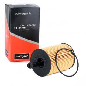 Oil Filter MAXGEAR Art.No - 26-0127 OEM: 071115562 for VW, AUDI, SKODA, SEAT, WIESMANN buy
