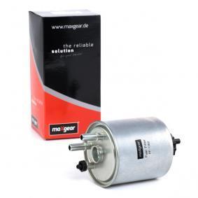 TWINGO II (CN0_) MAXGEAR Dieselfilter 26-0736