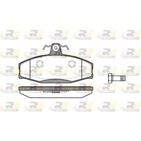 ROADHOUSE Kit de plaquettes de frein, frein à disque (2620.20) à bas prix
