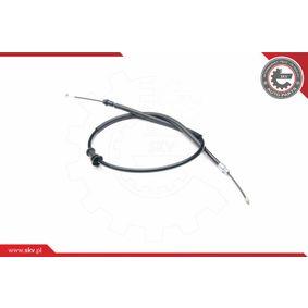 PUNTO (188) ESEN SKV Parking brake cable 26SKV436