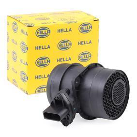 HELLA Luftmassenmesser/Luftmengenmesser 8ET 009 142-571 für AUDI A4 1.9 TDI 130 PS kaufen