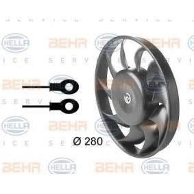 HELLA Luftkühlung 8EW 009 144-321 für AUDI 80 2.8 quattro 174 PS kaufen