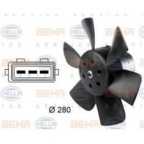 HELLA Luftkühlung 8EW 009 144-381 für AUDI 80 1.8 GTE quattro (85Q) 110 PS kaufen