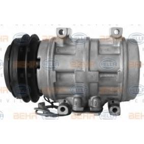 Kompressor/Einzelteile (8FK 351 108-541) hertseller HELLA für AUDI COUPE 2.3 quattro 134 PS Baujahr 05.1990 günstig
