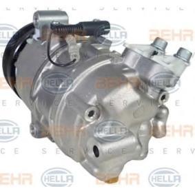 X3 (E83) HELLA Kompressor Klimaanlage 8FK 351 109-871