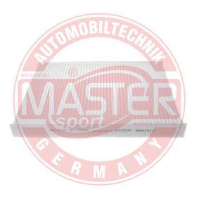 MASTER-SPORT Filter, Innenraumluft JZW819653 für VW, AUDI, SKODA, SEAT, WIESMANN bestellen