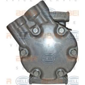 CLIO II (BB0/1/2_, CB0/1/2_) HELLA Kompressor Klimaanlage 8FK 351 127-901