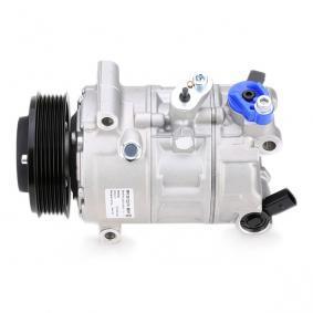 HELLA Kompressor, Klimaanlage Update M.Steuergerät Top/PAD mit Keilrippenriemenscheibe mit Dichtring 8FK 351 322-741 in Original Qualität