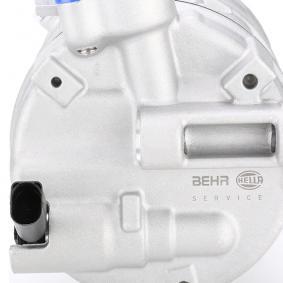Kompressor, Klimaanlage Update M.Steuergerät Top/PAD mit Keilrippenriemenscheibe mit Dichtring von hersteller HELLA 8FK 351 322-741 bis zu - 70% Rabatt!