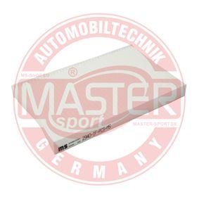 Filtro habitáculo 2940-IF-PCS-MS MASTER-SPORT