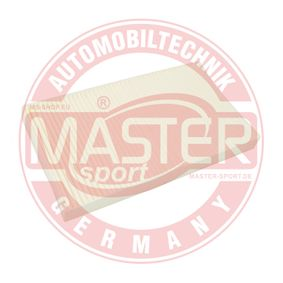 MASTER-SPORT Filter, Innenraumluft 60653641 für FIAT, DACIA, ALFA ROMEO, CHRYSLER, LAND ROVER bestellen