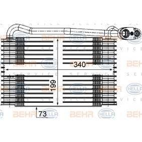 Verdampfer (8FV 351 210-171) hertseller HELLA für VW PASSAT 1.9 TDI 130 PS Baujahr 11.2000 günstig
