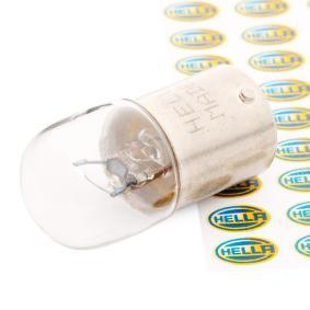 8GA 002 071-121 Glühlampe, Kennzeichenleuchte von HELLA Qualitäts Ersatzteile