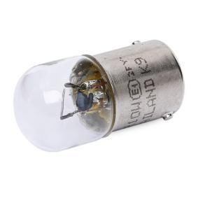 HELLA Крушка с нагреваема жичка, светлини на рег. номер 8GA 002 071-131