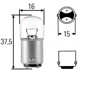Крушка с нагреваема жичка (8GA 002 071-361) от HELLA купете