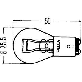 HELLA Glühlampe, Blinkleuchte (8GD 002 078-121) niedriger Preis
