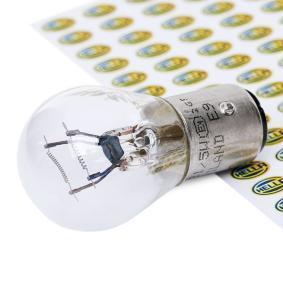 8GD 002 078-241 Glühlampe, Blinkleuchte von HELLA Qualitäts Ersatzteile