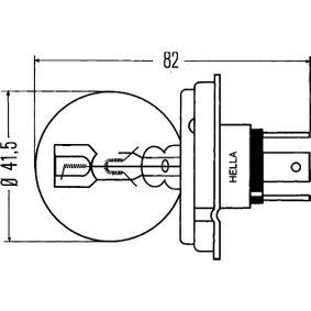 Bulb, headlight 8GD 002 088-071 online shop