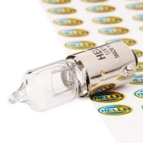 8GH 002 473-151 Glühlampe, Innenraumleuchte von HELLA Qualitäts Ersatzteile