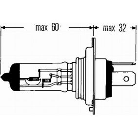 Glühlampe, Fernscheinwerfer 8GJ 002 525-341 Online Shop
